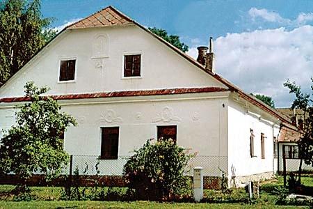 Chalupa - statek v Bořetíně v jižních Čechách