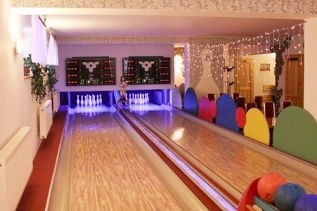Penziony Orlické hory - Penzion v Nové Vsi - bowling