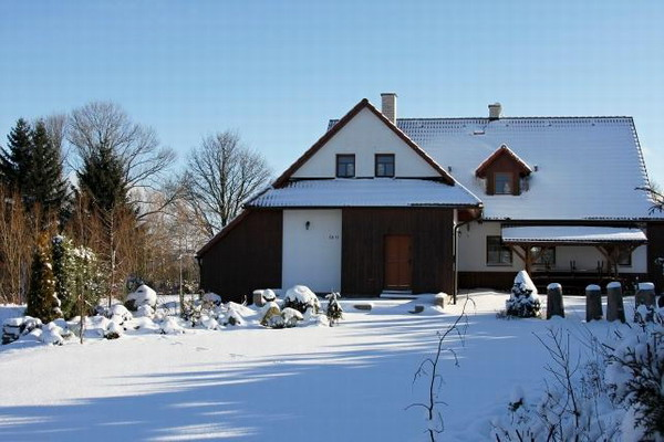 Silvestr na hor�ch - Kru�n� hory - Chata nad J�chymovem