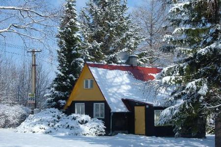 Vánoce na horách - Beskydy - Chaty v Trojanovicích
