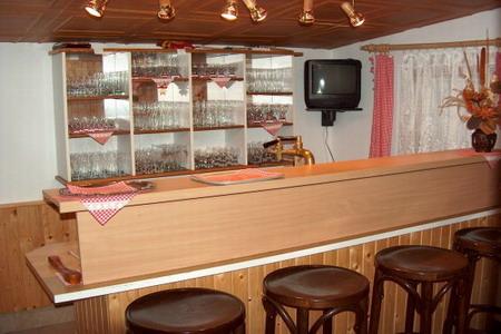 Penzion v Jizerských horách - Penzion na Mariánské hoře - bar v restauraci