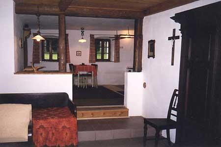 Ubytování Lipno - Chata na Lipně - apartmán