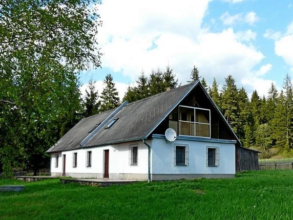 Chalupa v Malíkově v jižních Čechách