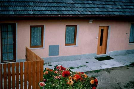 Chalupa v Dudově v jižních Čechách