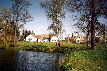 Chalupa v Kojákovicích v jižních Čechách