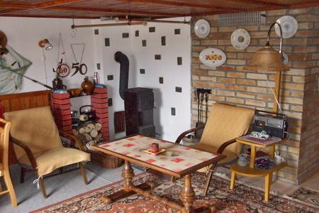 Ubytování Lipno - Chata na Lipně - obývací pokoj