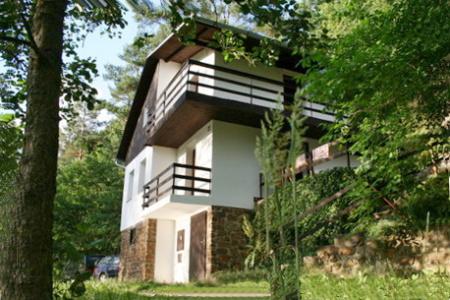 Chata u Dyje v jižních Čechách