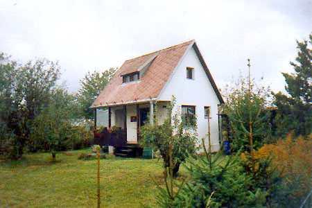 Chata u rybníka Vajgar v Jindřichově Hradci v jižních Čechách