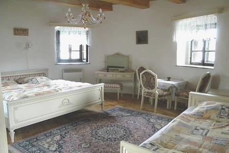 Ubytování jižní Čechy - Věž v Žumberku - pokoj