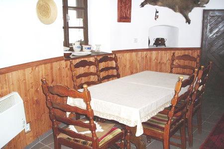 Ubytování jižní Čechy - Věž v Žumberku - kuchyň