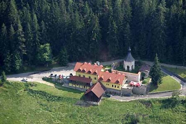 Hotel v Rožmberku v jižních Čechách