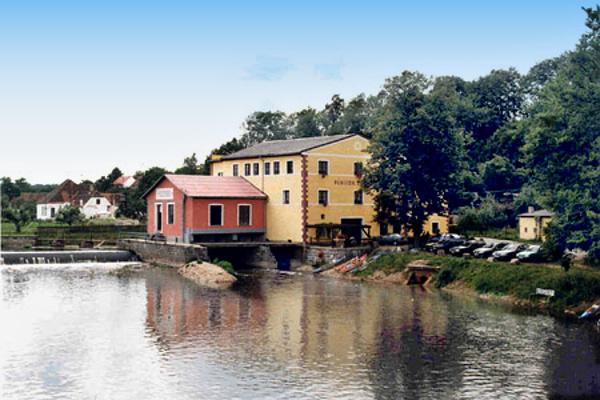 Penzion v Dráchově v jižních Čechách