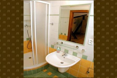 Penziony Český Krumlov - Starobylý penzion v Českém Krumlově - koupelna