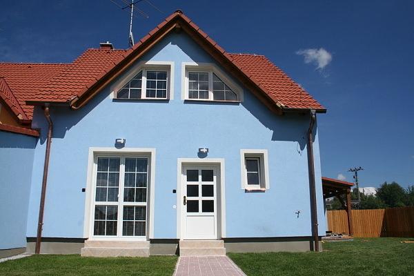 Domy na Lipně v jižních Čechách