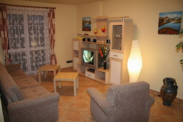 Ubytování Lipno - Domy na Lipně - obývací pokoj