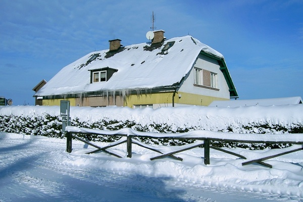Silvestr na horách - Jizerské hory - Chata v Jindřichově