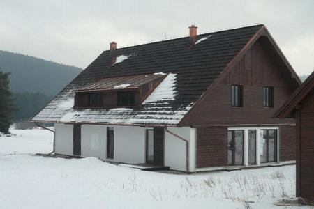 Silvestr na hor�ch - �umava - Chalupa na Borov� Lad�