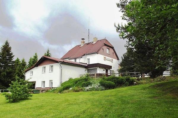 Penzion v Záhoří v jižních Čechách