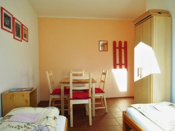 Ubytování Šumava - Penzion v Hodousicích - společenská místnost
