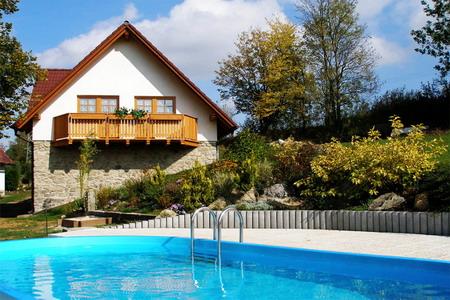Penzion s bazénem na Šumavě