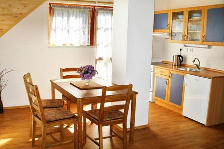 Penziony Šumava ubytování - Penzion u Kolince - kuchyň