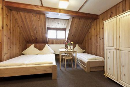 Ubytování penzion Šumava - Penzion na Modravě - pokoj