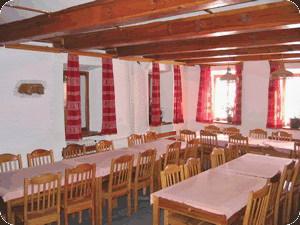 Šumava penziony - Penzion na Modravě - společenská místnost
