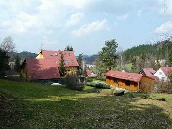 Chaty a chalupy - Rodinný penzion na Bečvě v Beskydech - pohled zvenku