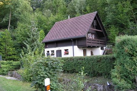 Chata k pronajmutí v Káranicích - východní Čechy