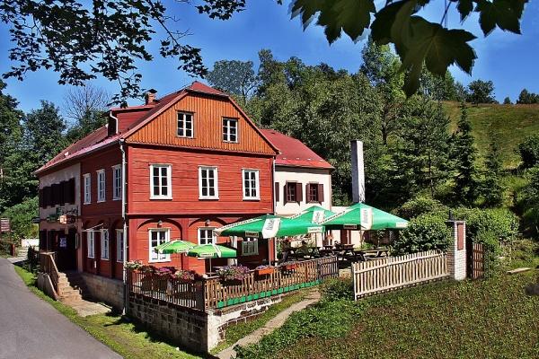 Penzion Kyjov v Českém Švýcarsku