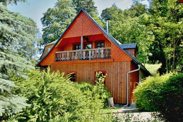 Chalupa Severní v Českém Švýcarsku