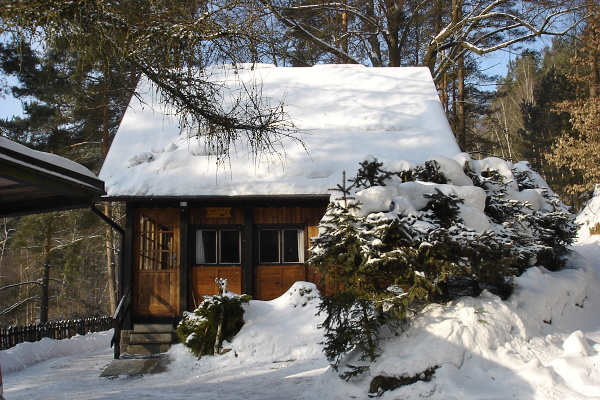 Chata ve Všemilech v Českém Švýcarsku