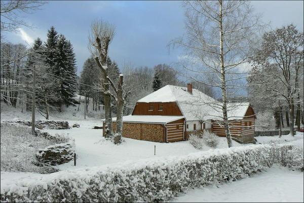 Silvestr na hor�ch - Orlick� hory - Chalupa v Rokytnici