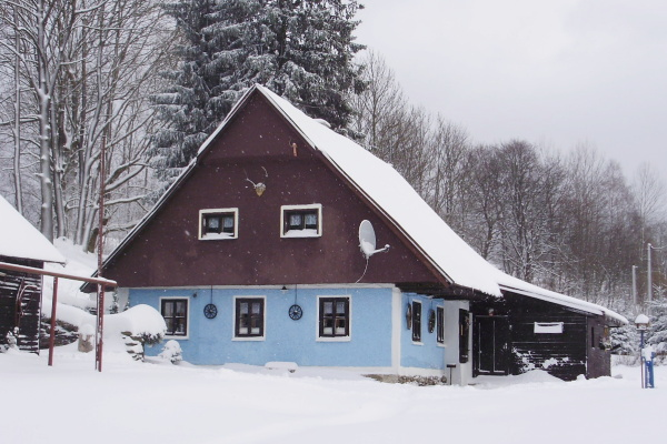 Silvestr na hor�ch - Orlick� hory - Chalupa v Sedlo�ov�