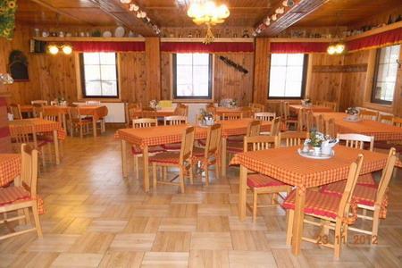 Ubytování Orlické hory - Penzion v Nové Vsi - restaurace