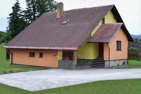 Chata v Dolní Moravě v Orlických horách