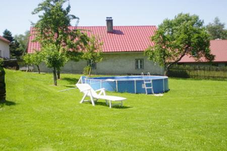 Pronájem luxusní chaty s bazénem