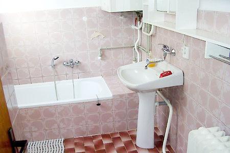 Chaty a chalupy k pronajmutí - Chalupa ve Sněžném - koupelna