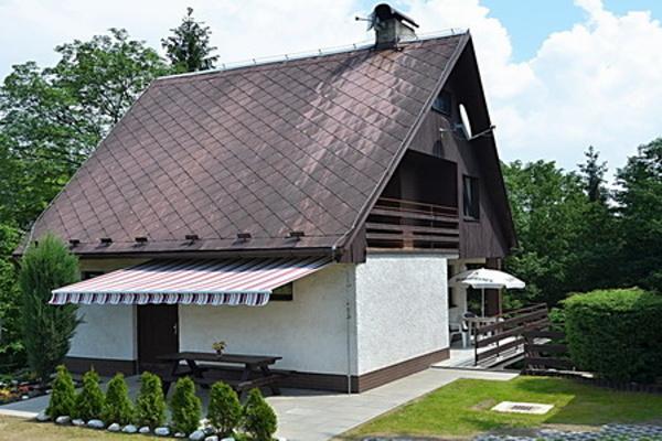 Silvestr na hor�ch - Vyso�ina - Chata u hradu Bouzov
