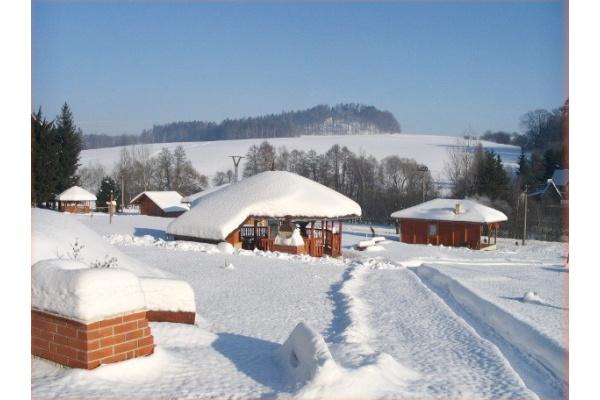 Silvestr na hor�ch - Vyso�ina - Chaty ve Svojanov�